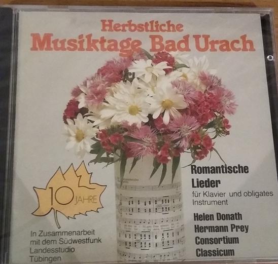 Romantische Lieder für Klavier und obligates Instrument