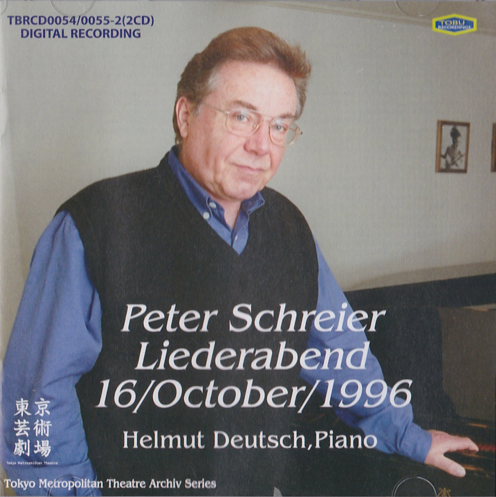 Peter Schreier, Liederabend